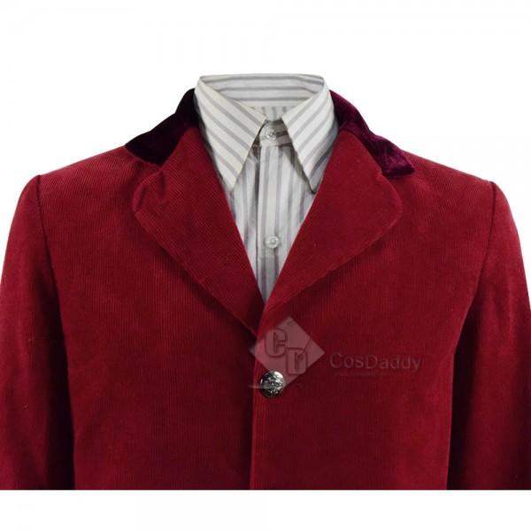 The Hobbit Bilbo Baggins Jacket Vest Pants Full Set Cosplay Costume