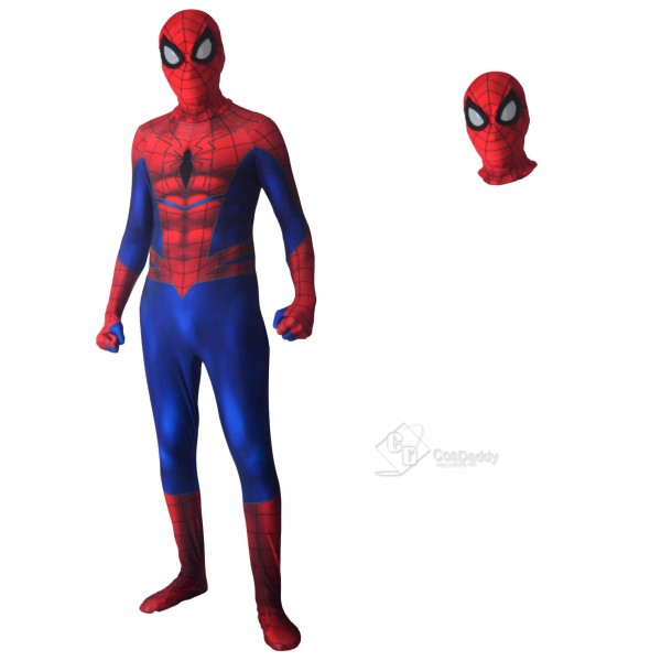 Savage Spiderman Cosplay Halloween Party Jumpsuit ...