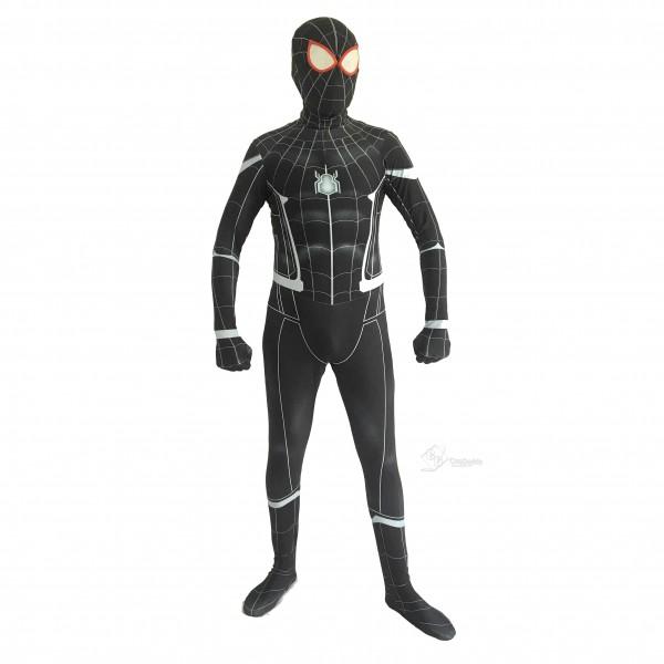 Spider-Man:Homecoming Halloween Black Bodysuit Spider-Man Cosplay Costume