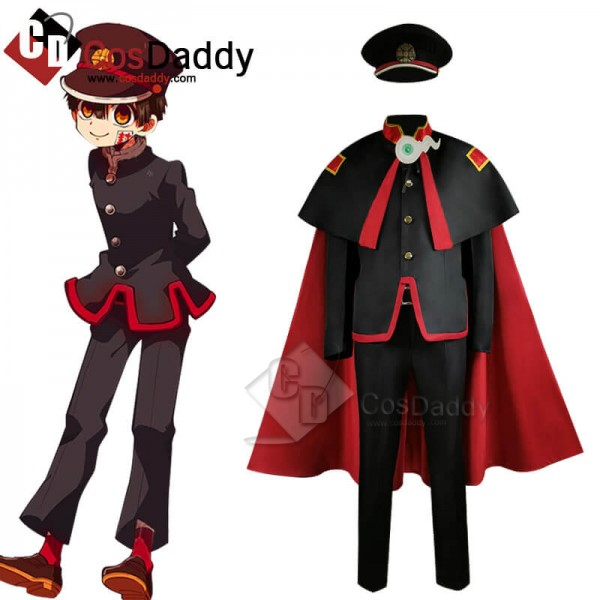 Toilet Bound Hanako kun Hanako Yugi Amane Uniform Comic Cosplay Costume