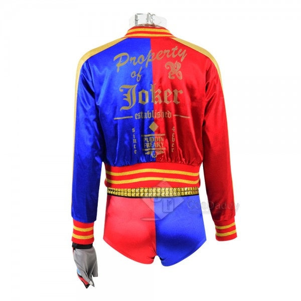 Suicide Squad Movie Harley Quinn New Jacket Shorts Cosplay Costume