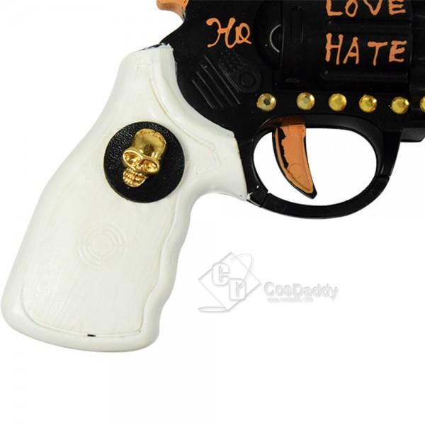 Harley Quinn Gun Halloween Clown Props Suicide Squad Pistol Cosplay