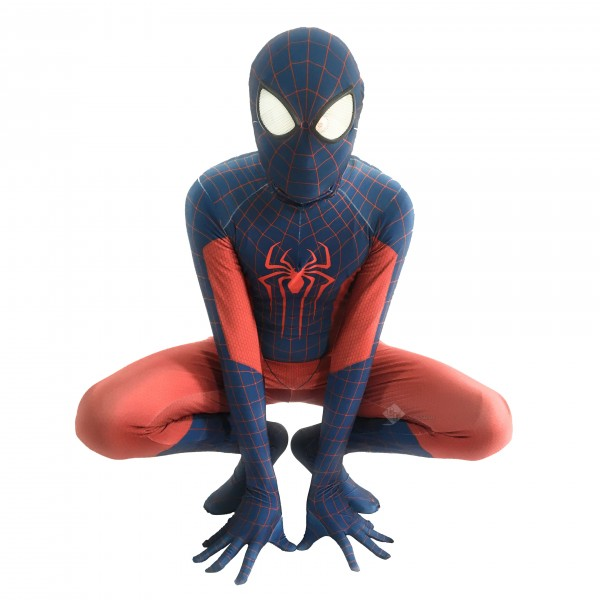 The Amazing Spiderman Suit Spandex Zentai Hallowee...