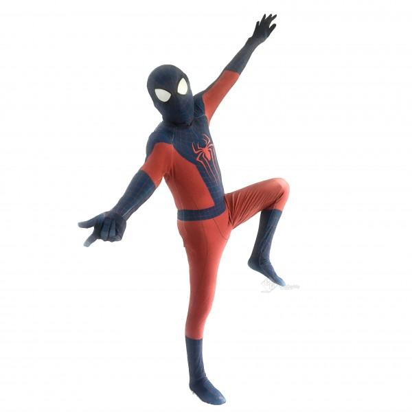 The Amazing Spiderman Suit Spandex Zentai Halloween Cosplay Costume Adult/Kids