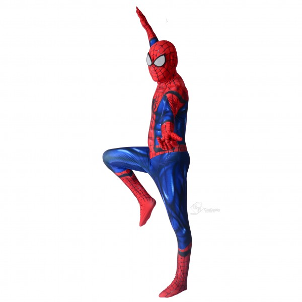 Amazing Spiderman 2 Costume Halloween Spider-Man Suits Bodysuits Cosplay Costume