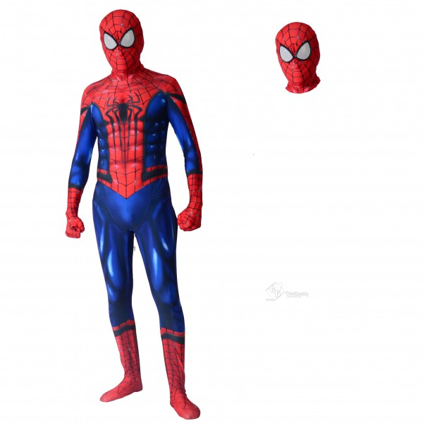 Amazing Spiderman 2 Costume Halloween Spider-Man S...