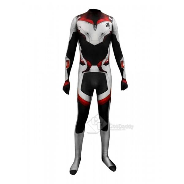 Avengers: Endgame Suit Marvel Superhero Cosplay Co...