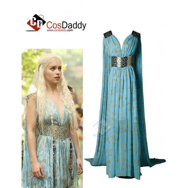 Game of Thrones Queen Daenerys Targaryen  Cospaly ...