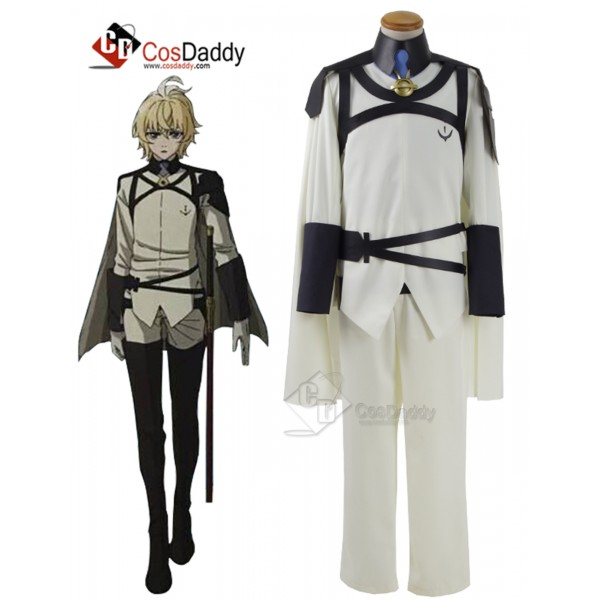 Seraph Of The End Mikaela Hyakuya Cosplay Costume