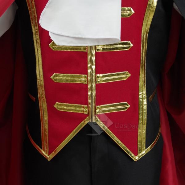 My Hero Academia Todoroki Shoto  Vampire Counts Full Set Halloween Cosplay Costume