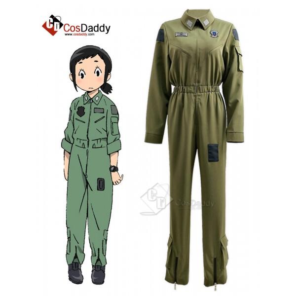 Dragon Pilot: Hisone and Masotan Hisone Amakasu Cosplay Costume