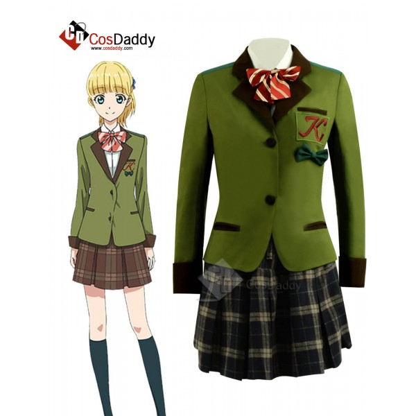 Tada does not fall in love Theresa Wagner Cosplay Costume