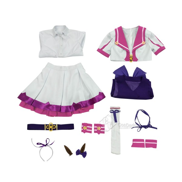 Uma Musume - Pretty Derby Special Week Umamimi Cosplay Costume