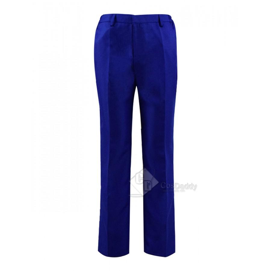 Cowboy Bebop Spike Spiegel Cosplay Costume jeans blue version