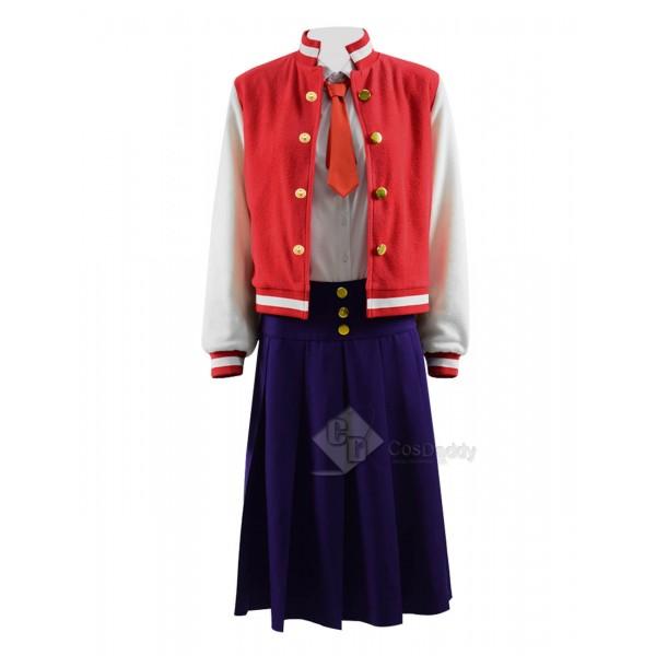 ZOMBIE LAND SAGA Zonbii Ni-go Saki Nikaido Cosplay Costume