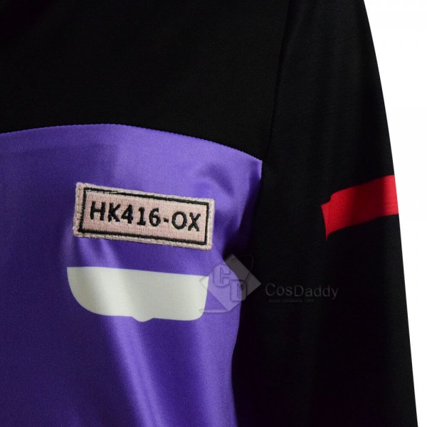 Girls Frontline Game HK416 Sweatshirt & Hoodes Jacket Costume For Sale