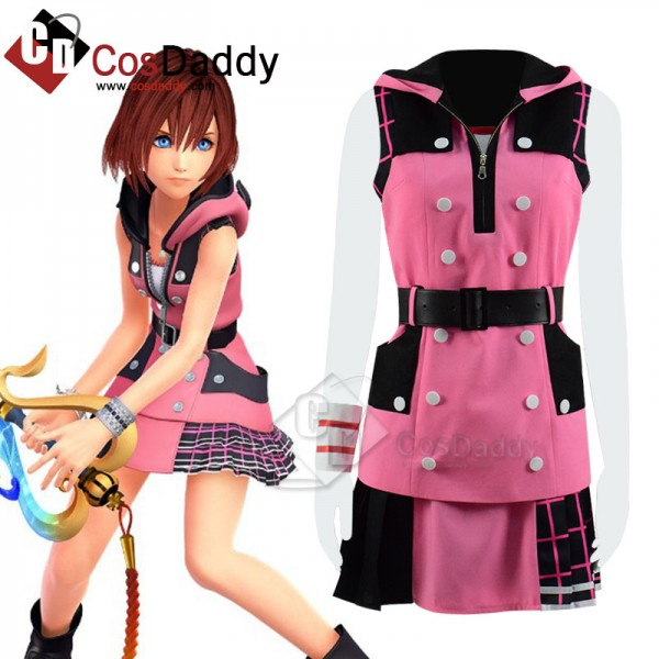 Kingdom Hearts III 3 Kairi Cosplay Costume