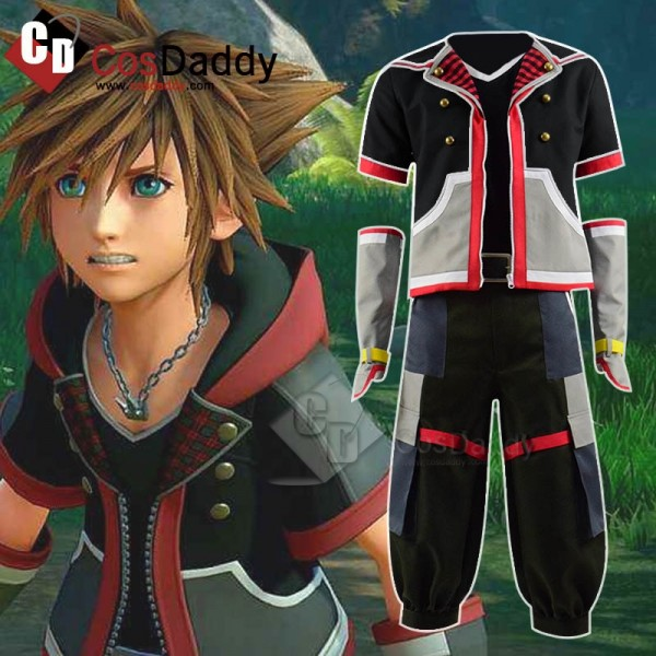 Kingdom Hearts III 3 Sora Cosplay Costume