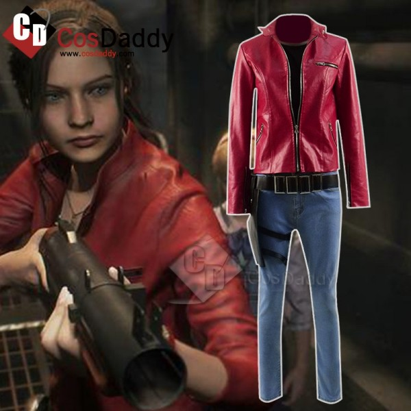 Biohazard RE 2 Claire Cosplay Costume
