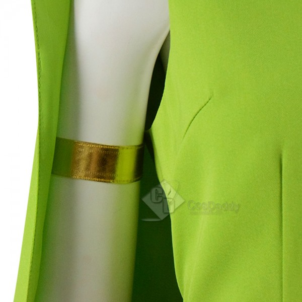 Archer Clash of Clans Costumes Green Dress Full Set Cosdaddy.com