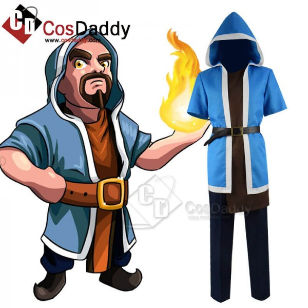 Clash Of Clans Wizard Costume For Sale Halloween C...