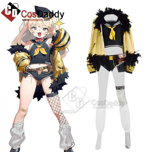 CosDaddy Anime Azur Lane Bache Cosplay Game Costum...