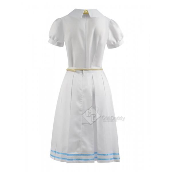 CosDaddy Beastars Haru White Dress Full Set Cosplay Costume