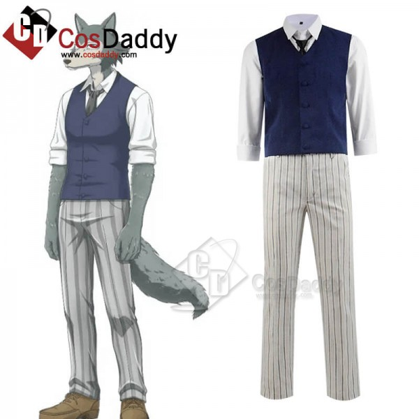 Beastars Legoshi Cosplay Costume Men Full Set For ...