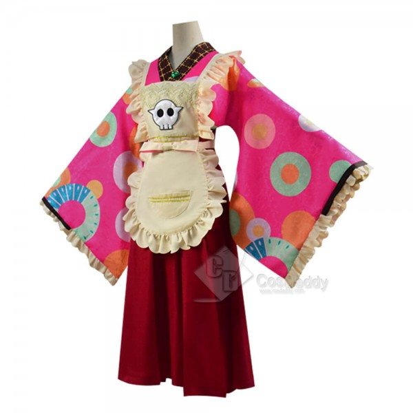 Toilet-Bound Hanako-kun Nene Yashiro Kimono Maid Dress Cosplay Outfit Costume