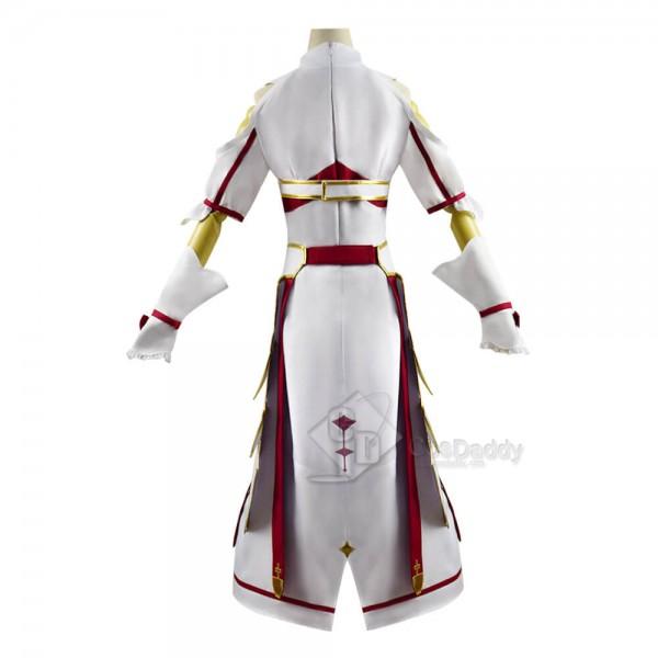 Sword Art Online Alicization Lycoris Asuna Yuuki Cosplay Costume