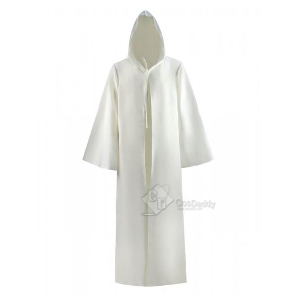 Star Wars Obi-Wan Kenobi Jedi Hooded Cape Cloak Co...