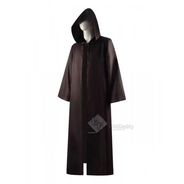Star Wars Obi-Wan Kenobi Jedi Hooded Cape Cloak Cosplay Costume