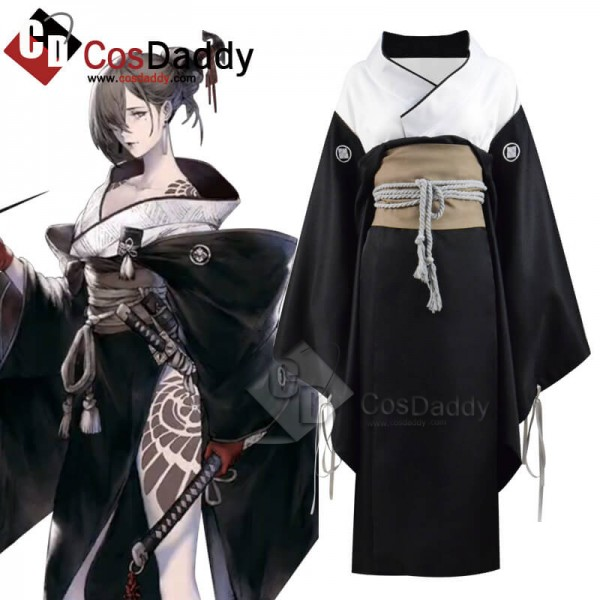 Best Game Nier Reincarnation Akeha kimono Full Set...