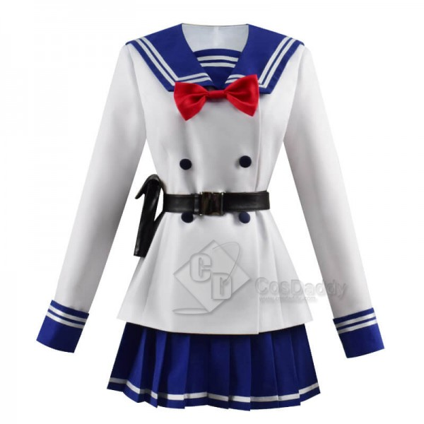High Rise Invasion Tenkuu Shinpan Yuri Honjou School Uniform Cosplay Costume