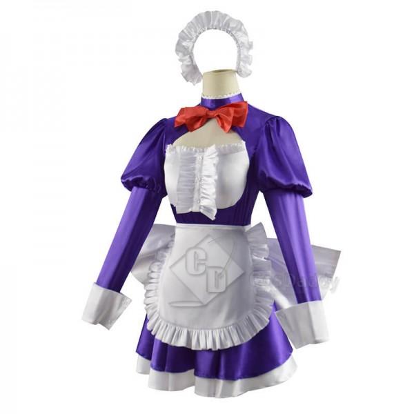 Tenkuu Shinpan High-Rise Invasion Maid Maid-fuku Kamen Cosplay Costume