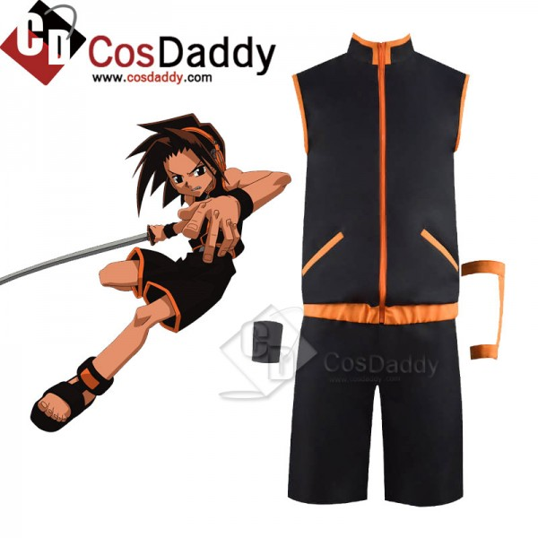 2021 Shaman King Anime Yoh Asakura Suit Cosplay Co...
