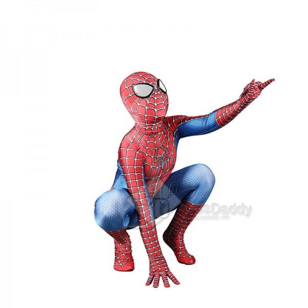Audlt/Kids Spider-Man Lycra Spandex Zentai Hallowe...