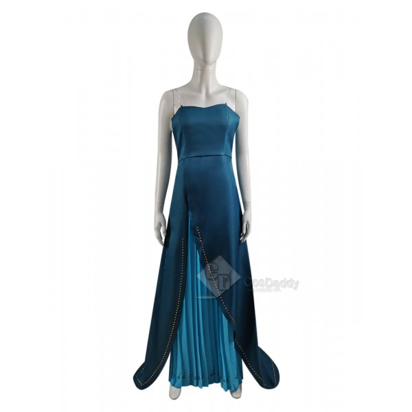 Disney Frozen 2 Anna Queen Dress Cosplay Costume for adults