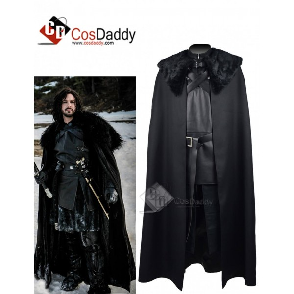 Game of Thrones  Jon Snow Night's Watch  Black Coa...