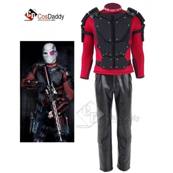 Suicide Squad Deadshot Floyd Lawton, Jr Outfit Cos...