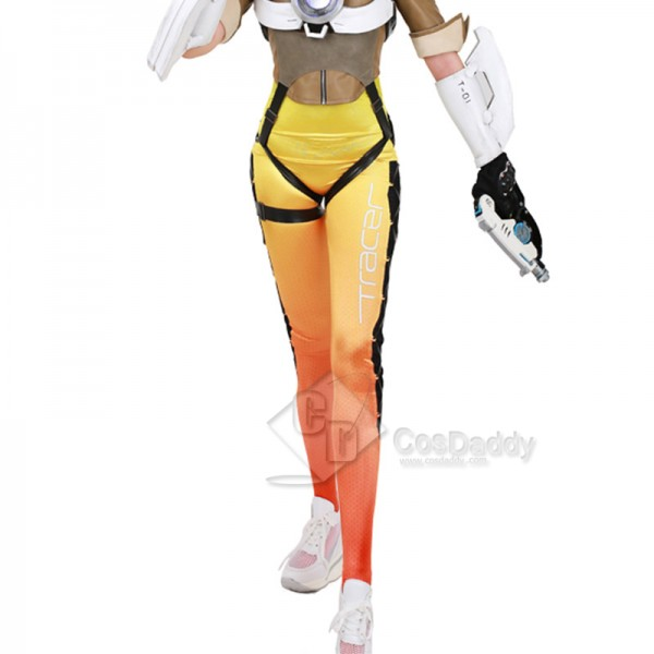 Overwatch Tracer Uniform Cosplay Costume