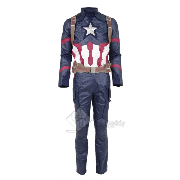 Captain America: Civil War Steve Rogers Uniform Co...