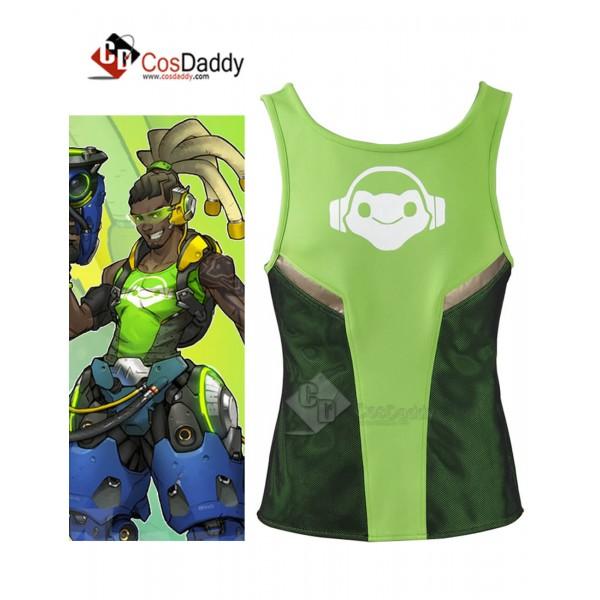 Overwatch DJ Lucio Vest Cosplay Costumes