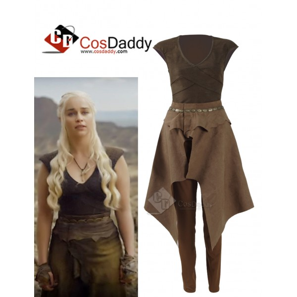 Game of Thrones Queen Daenerys Targaryen Cosplay D...