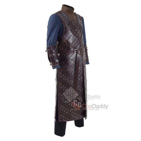 Game of Thrones Season 6 Jon Snow Armor Suit Cosplay Costume