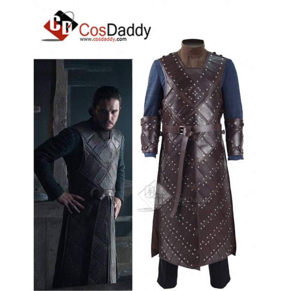 Game of Thrones Season 6 Jon Snow Armor Suit Cospl...