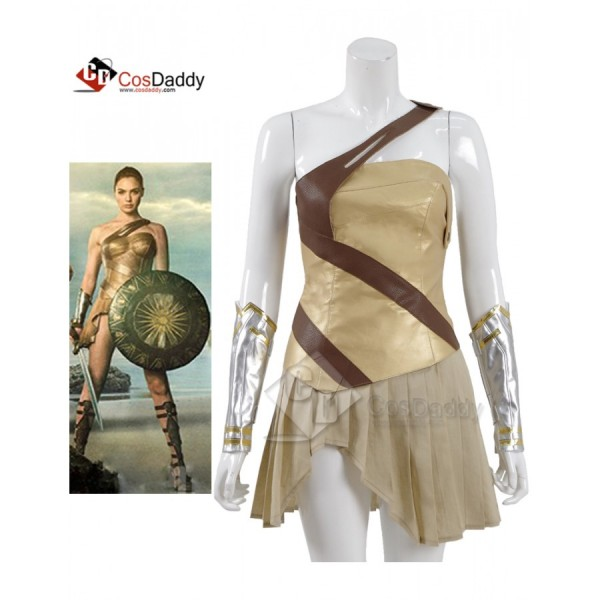 CosDaddy Wonder Woman Queen Hippolyta Battle Cospl...