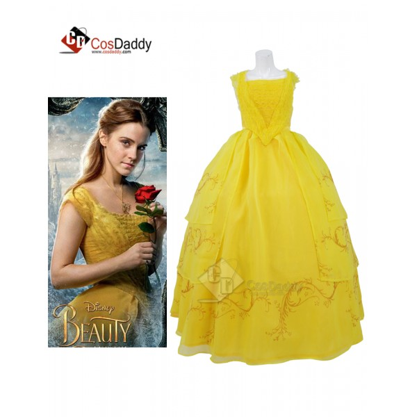 Cosdaddy Beauty and the Beast Movie Princess Belle...