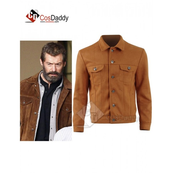 Wolverine3 Hugh Jackman Costume Jacket Cosplay Costume