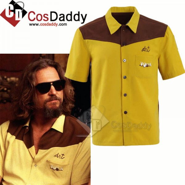 The Big Lebowski The Dude Medina Sod Bowling Shirt...